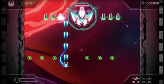 Figure 3: Screenshot from the PS4 version of Velocity 2x (2014)